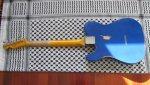 Telecaster Bakelite Custom Shop '63 Relic Lake Placid Blue
