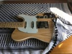 Telecaster Plus Bakelite Natural Ash