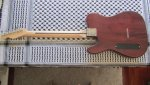 Telecaster Thinline Bakelite P-90 Lightly Aged Faded Tobacco Burst