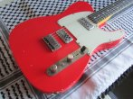 Telecaster 52 Bakelite 2 TV Jones Relic Mark Knopfler Fiesta Red